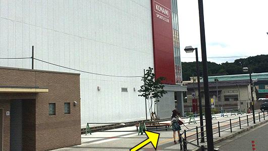 三田駅北出口駅前ロータリー
