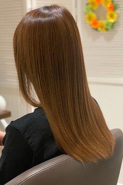 1518(イチゴイチエ)の美髪エステ 施術後