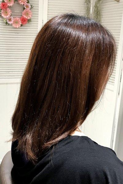 美髪エステ施術前