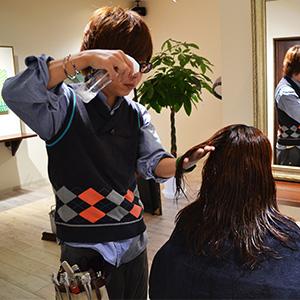 髪の水分補給
